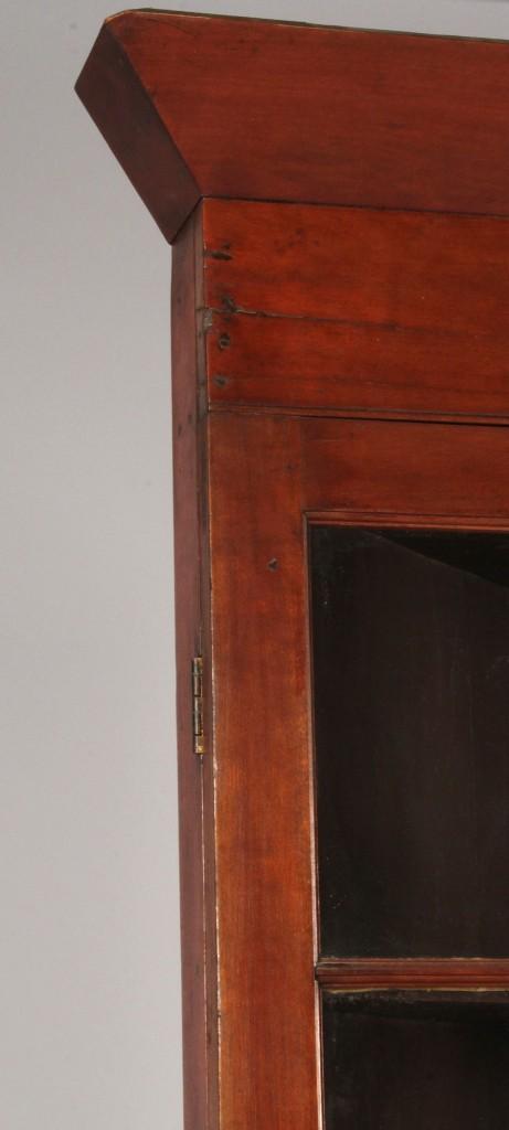Lot 100: East Tennessee Corner Cupboard