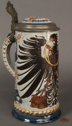 Lot 122: German Mettlach Stein