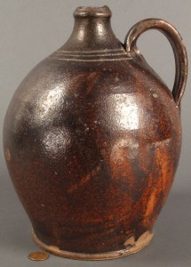 Lot 127: East Tennessee Redware Jug