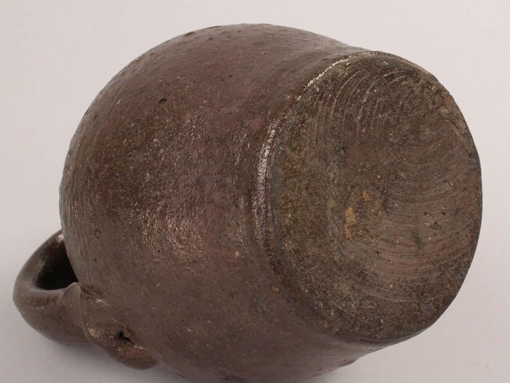 Lot 128: East TN Miniature Stoneware Jug
