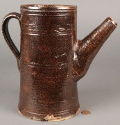 Lot 131: East TN  Redware Pitcher