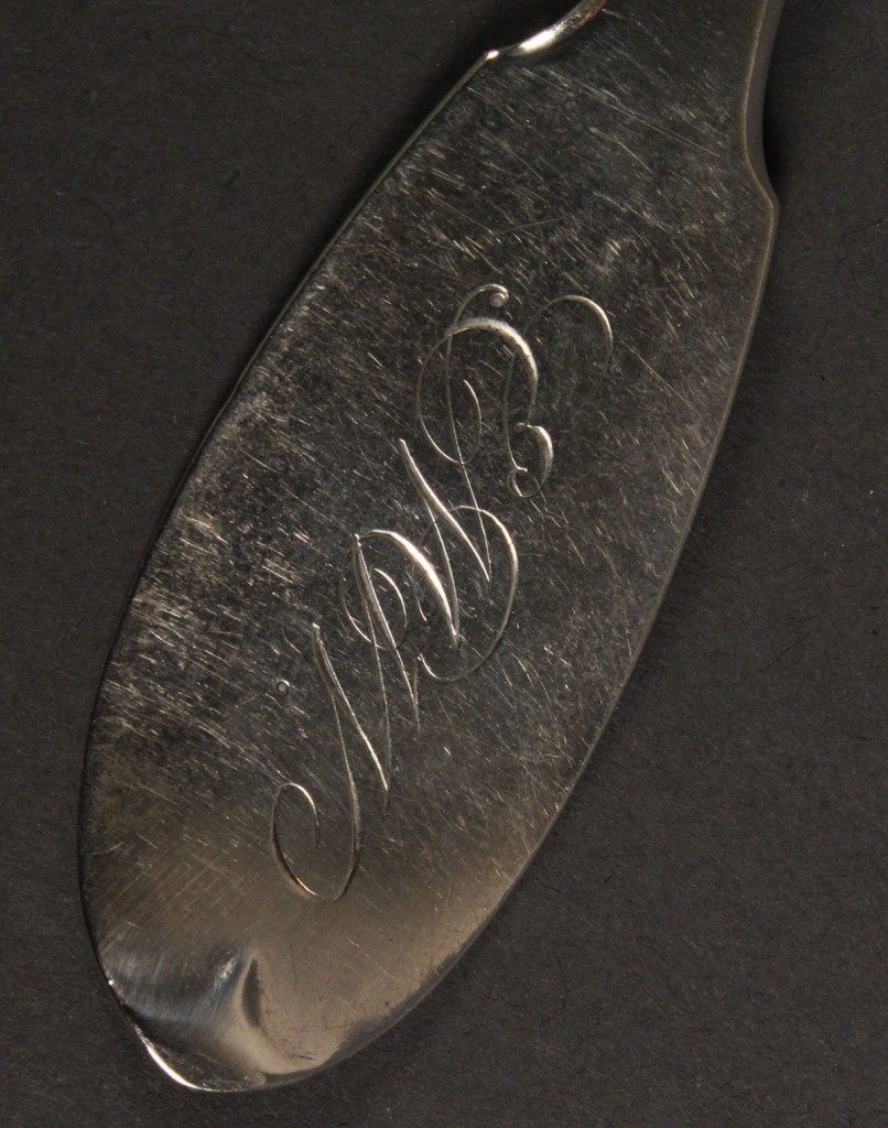 Lot 139: G. H. Smith Coin Silver Ladle