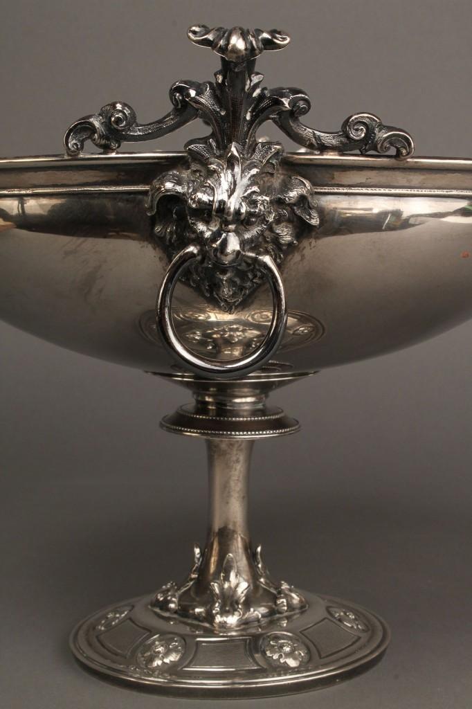 Lot 144: American Silver compote, John Cann