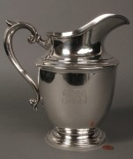 Lot 154: Sterling Silver Water Pitcher, John Kay retailer
