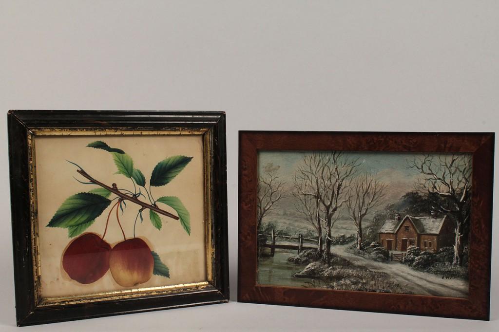 Lot 180: Lot of 4 Decorative Items