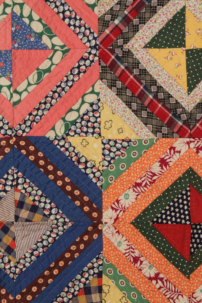 Lot 187: East TN Quilt, African American History