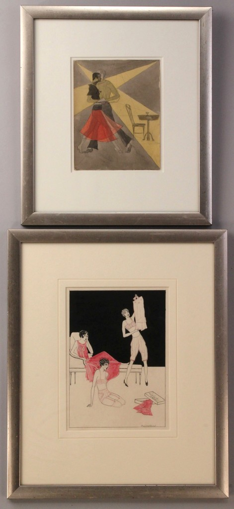 Lot 196: Two M.C. Northern drawings