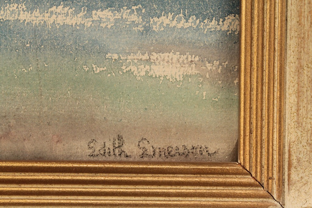 Lot 200: Edith Emerson Mountain Landscape Watercolor
