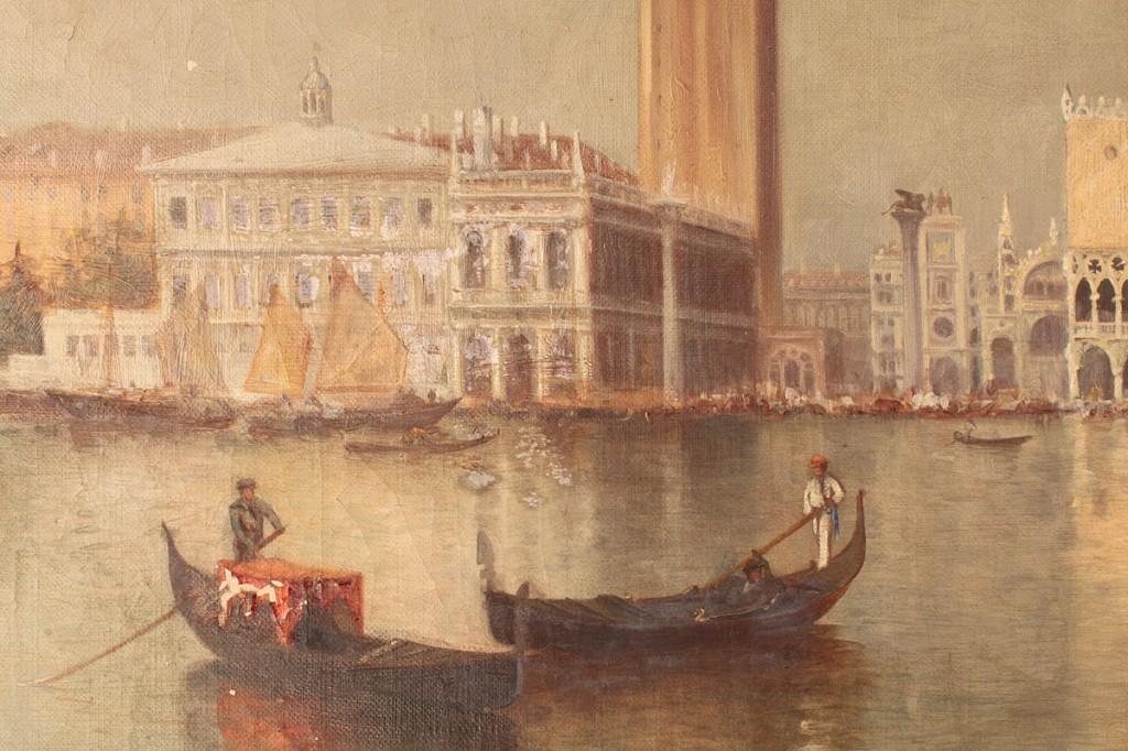 Lot 205: Warren Sheppard, The Grand Canal