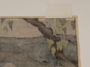 """Lot 208:  Bror Julius Olsson Nordfeldt Woodcut, """"The Quarry"""" - Image 9"""