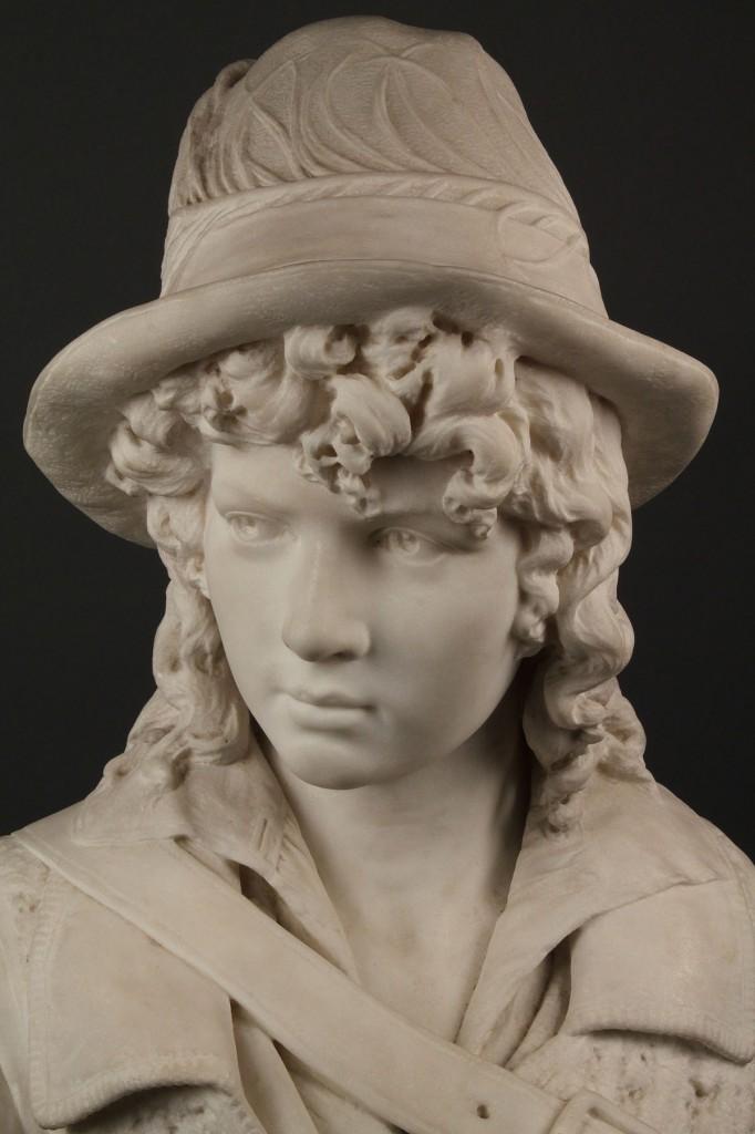 Lot 227: Giuseppe Carnevale marble sculpture