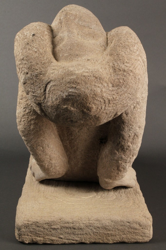 Lot 230: Limestone sculpture attr. Puryear Mims