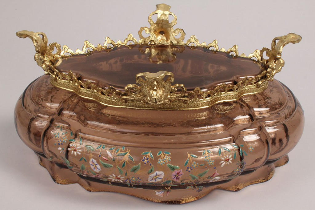 Lot 233: Moser Attributed Footed Center Bowl
