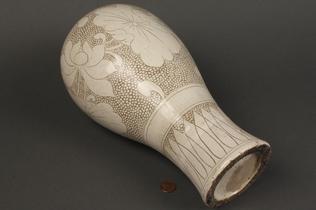 Lot 258: Chinese Tz'u-Chou ware vase