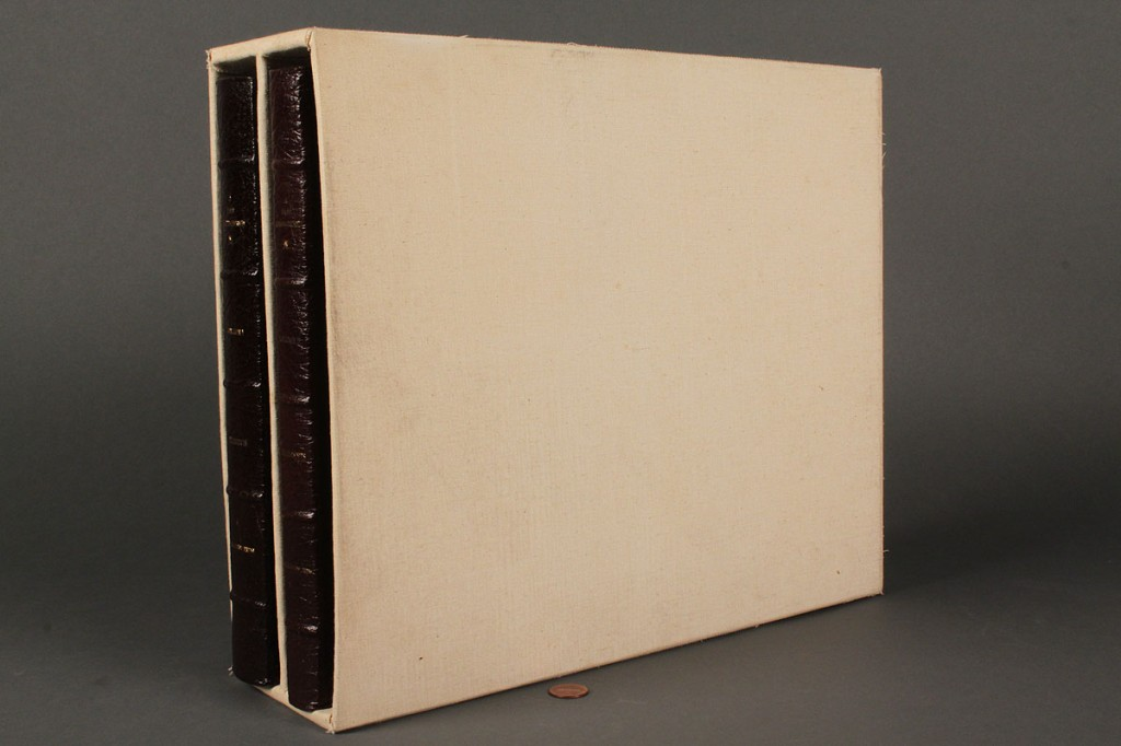 Lot 277: 2 Vol. books: A Past Remembered, Clement