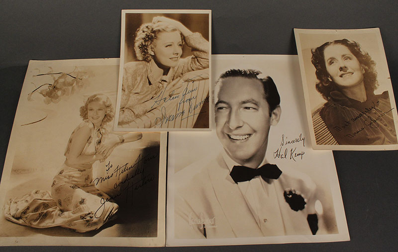 Lot 280: Lot of 4 Hollywood Autographed photos