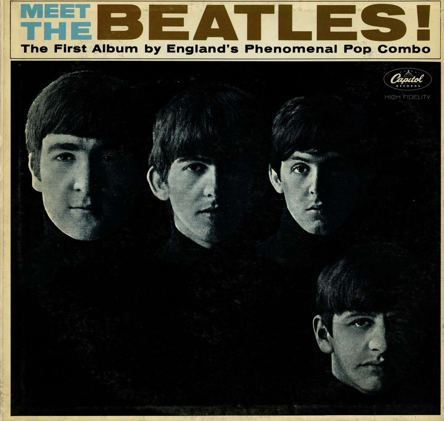 lot 281 meet the beatles album signed by all 4 members. Black Bedroom Furniture Sets. Home Design Ideas