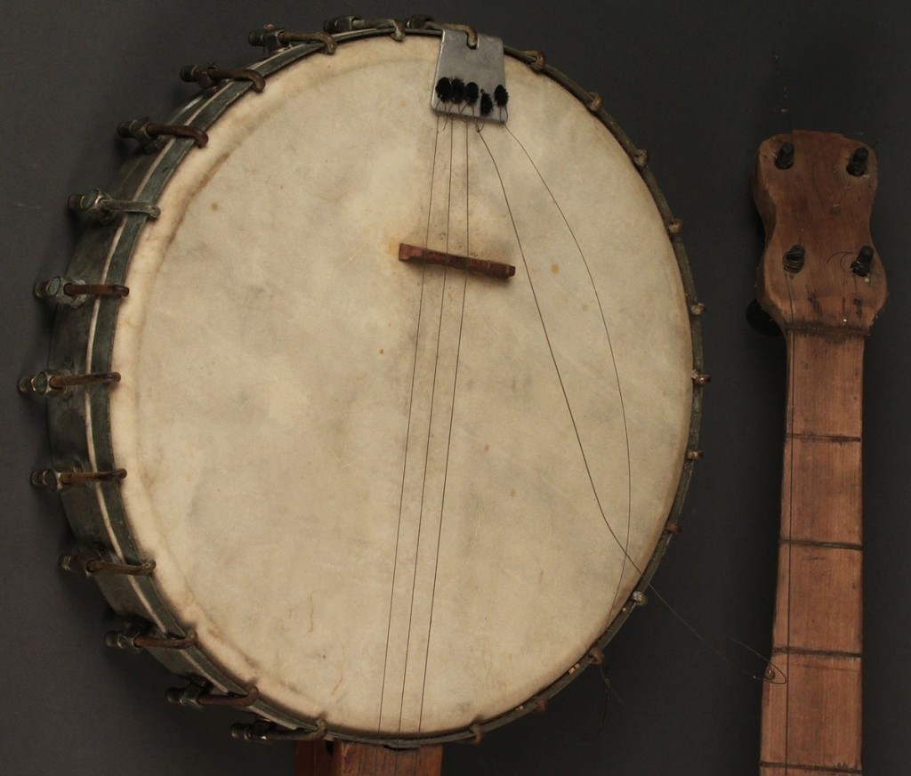 Lot 285: Grouping of Two (2) East TN banjos