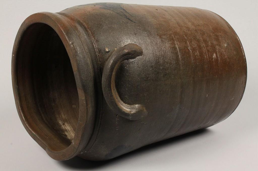 Lot 288: Southwest, VA Stoneware Pottery jug, Cobalt Dec
