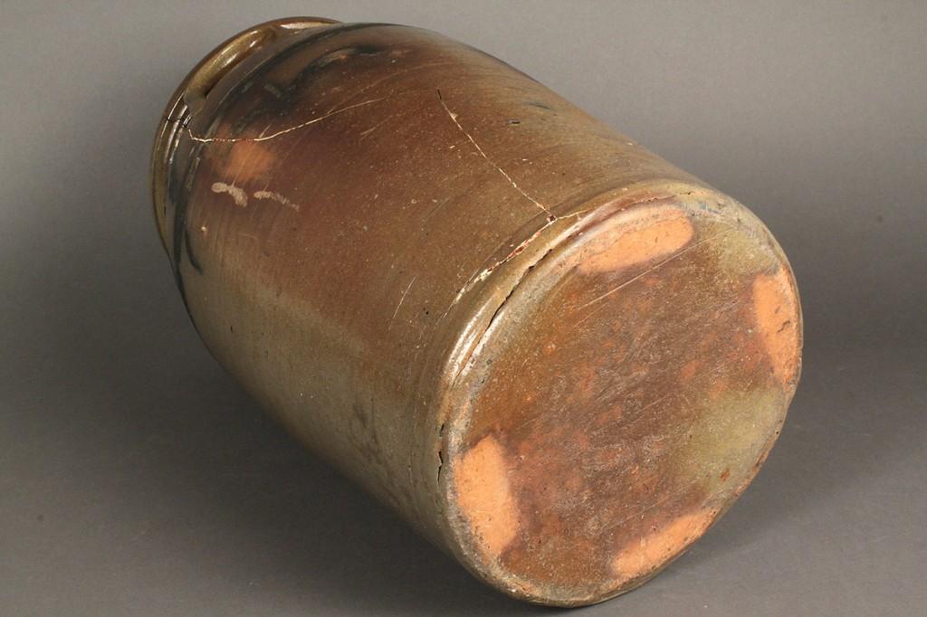 Lot 292: Greene Co., TN Stoneware Pottery Jar, Attri, Lewis Manning Haun
