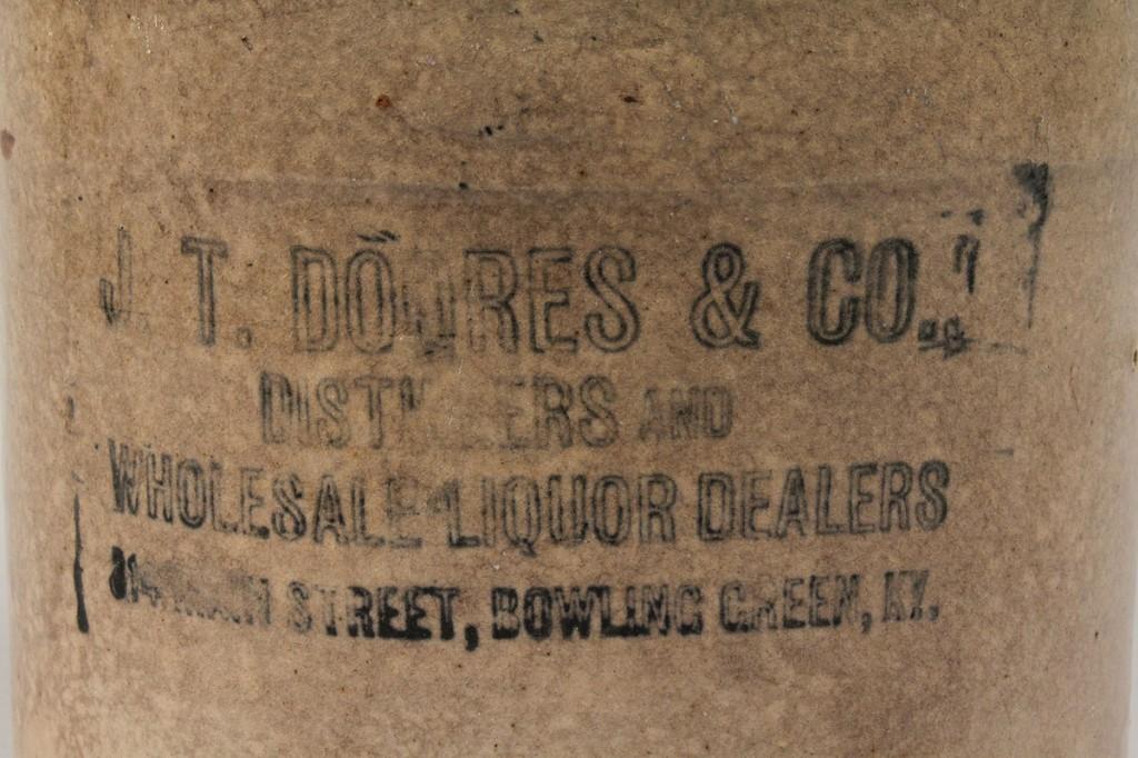Lot 298: Kentucky Whiskey Jug, J T Doores & Co.