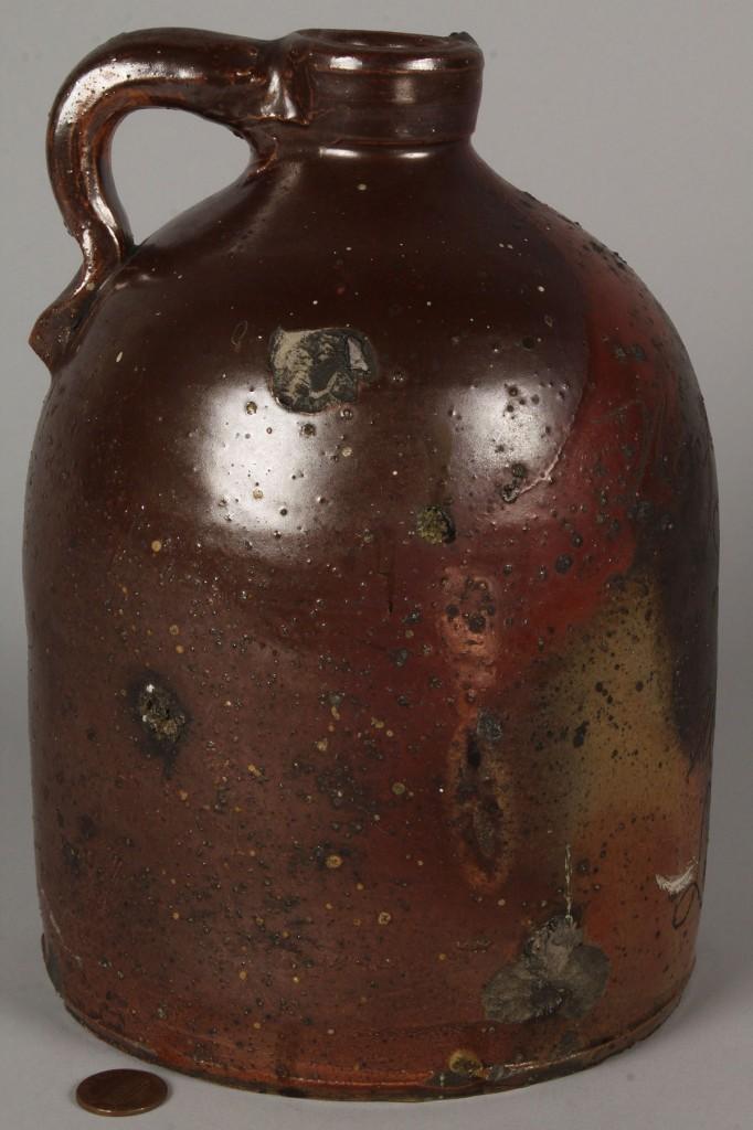 Lot 300: Louisville, Kentucky Druggists Pottery Jug