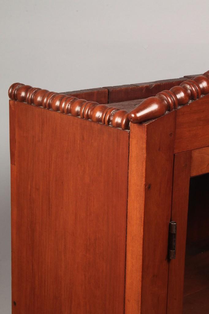 Lot 305: TN Cherry Cabinet w/ 4-paned Glass Door