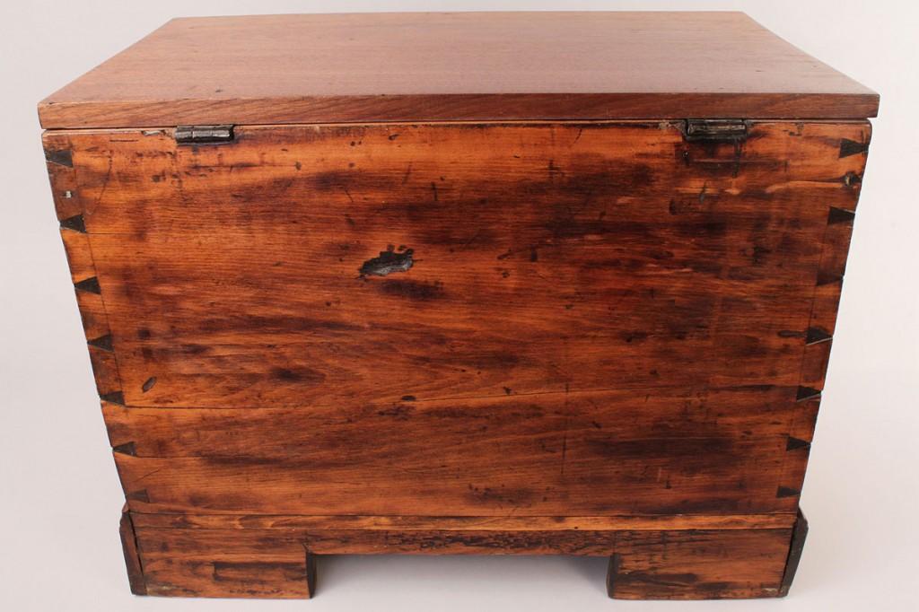 Lot 306: East TN miniature blanket box