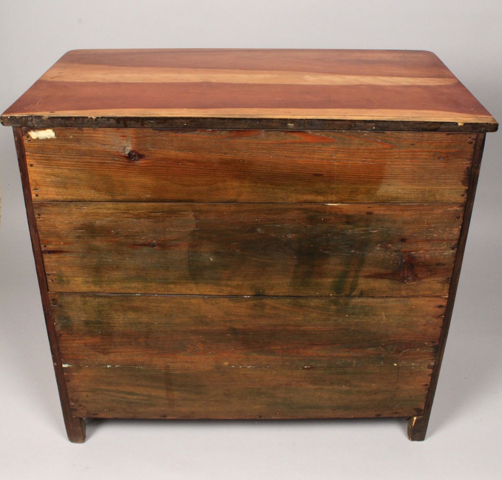 Lot 307: East TN Miniature Cherry Chest of Drawers