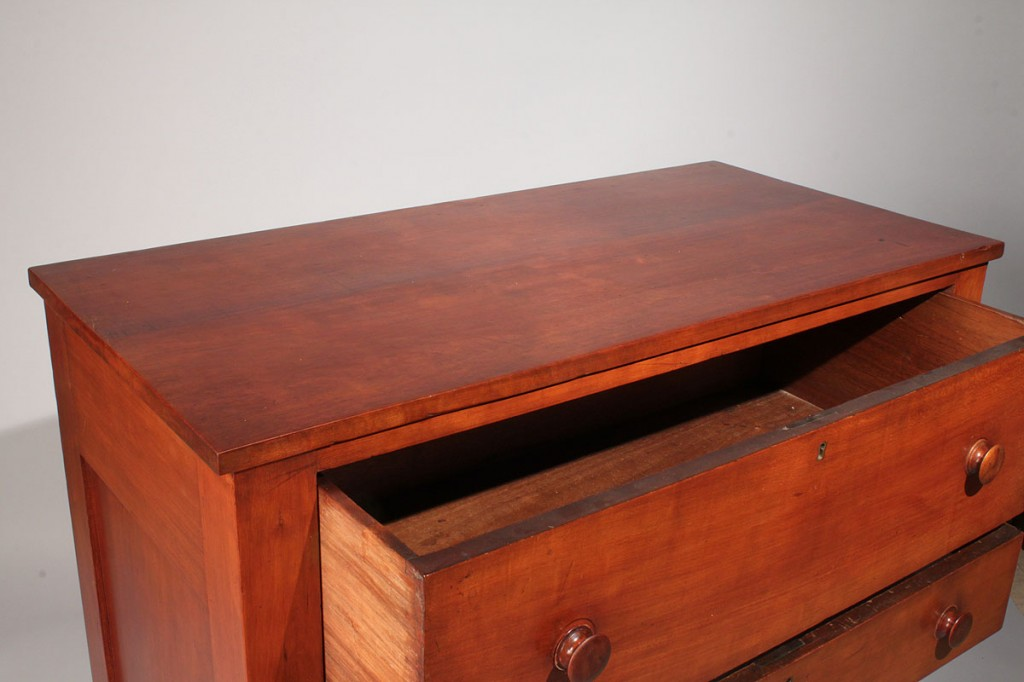 Lot 313: Middle TN Cherry Sheraton Chest
