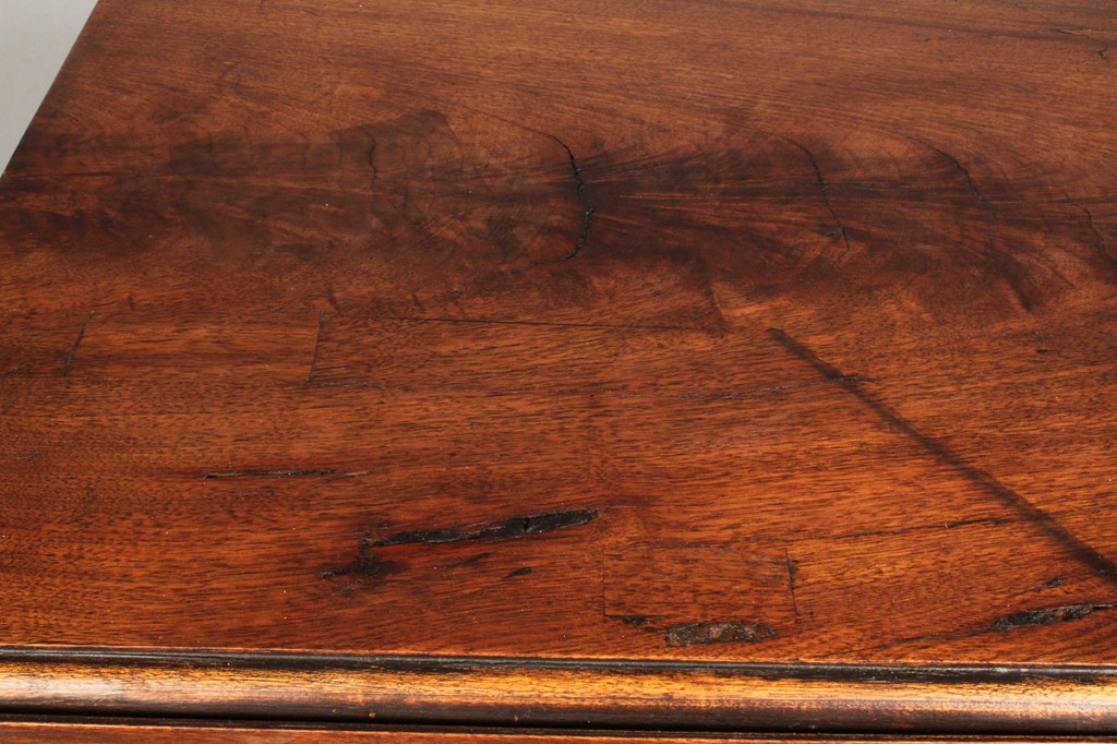 Lot 323: Federal mahogany Two Drawer Work Table