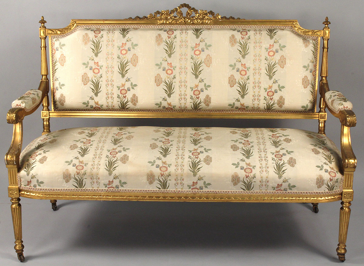 Louis Xvi Sofa Louis Xvi Settee 1760 1789 French Antiques