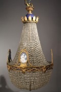 Lot 339: English Regency Style Chandelier