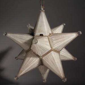 Lot 341: Moravian Star Light Fixture