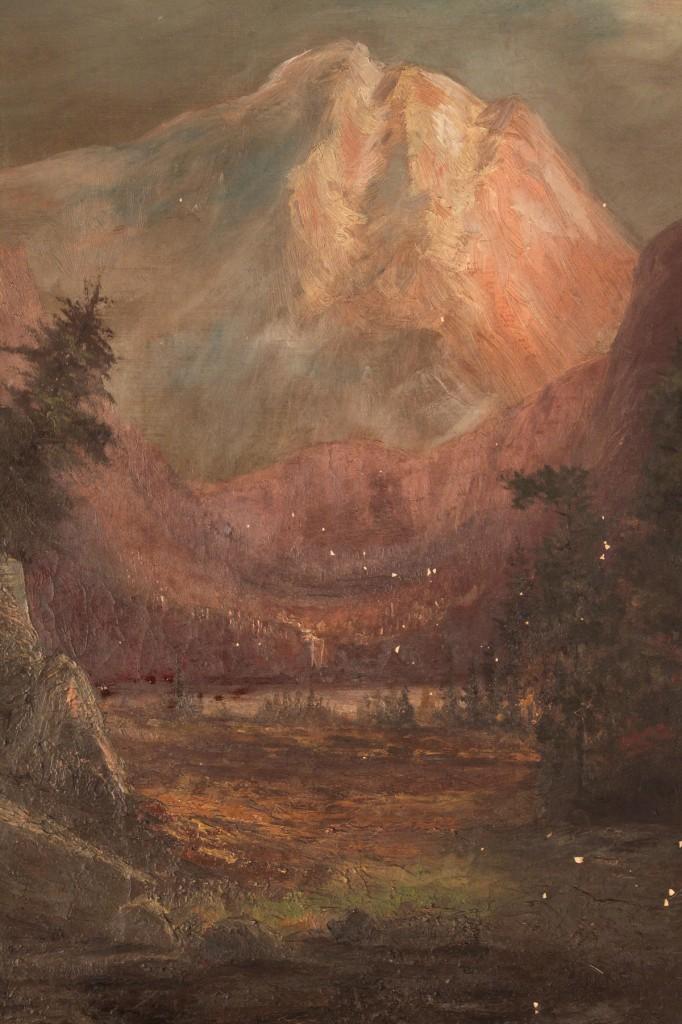 Lot 364: J.J.G. Burghoffer, Mountain Landscape