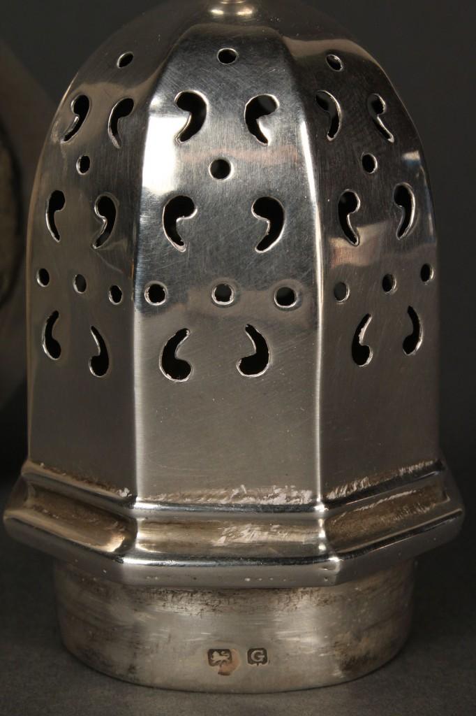 Lot 379: Georgian Silver Caster
