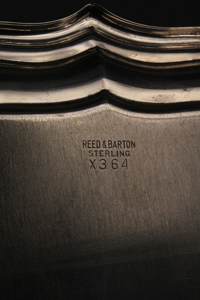 Lot 395: Reed & Barton Sterling Golf Trophy Tray