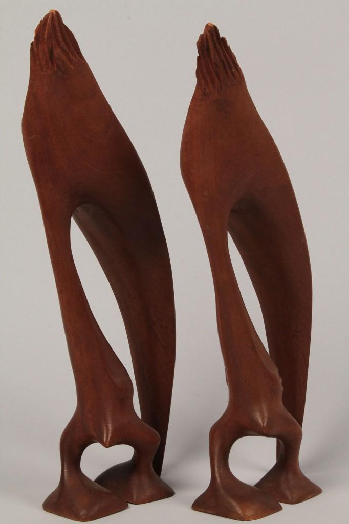 Lot 409: Lot of 3 Danish Abstract Sculptures, Knud Albert