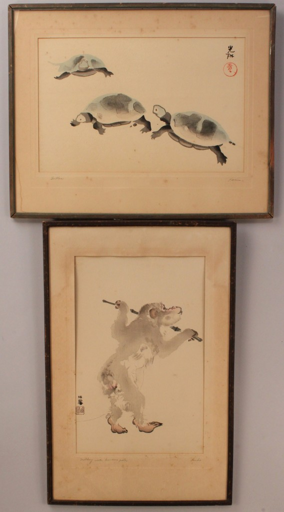 Lot 416: Lot of 2 pcs. Japanese Art