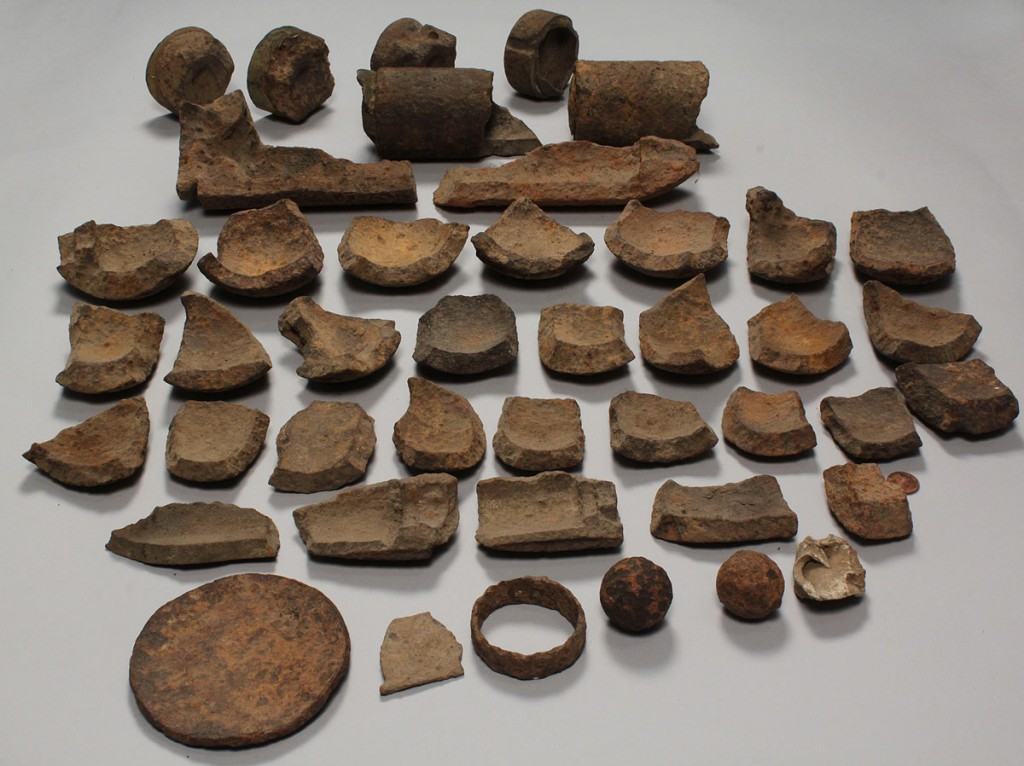 Lot 461: Collection Excavated Civil War Artillery Relics