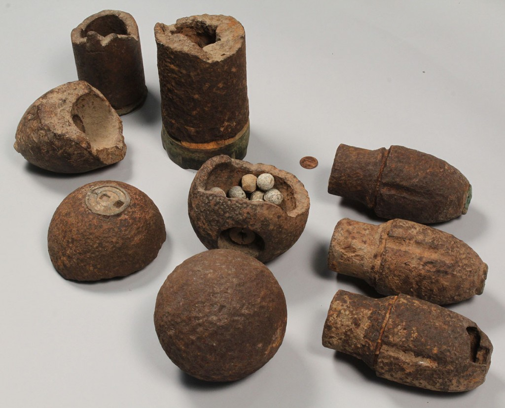 Lot 462: Collection of Excavated Civil War Relics, 33 pcs