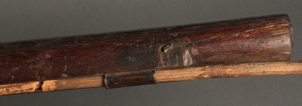 Lot 466: Southern Flintlock Long Rifle