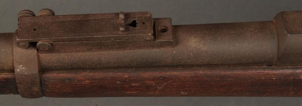 Lot 467: US Springfield Model 1864 Percussion rifle w/ bayonet