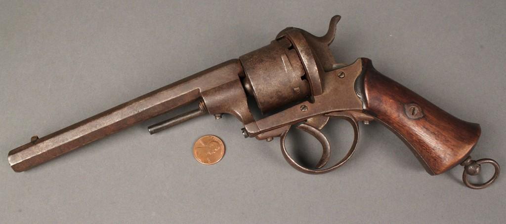 Lot 468: Lefaucheux M1858 Pin-Fire Revolver