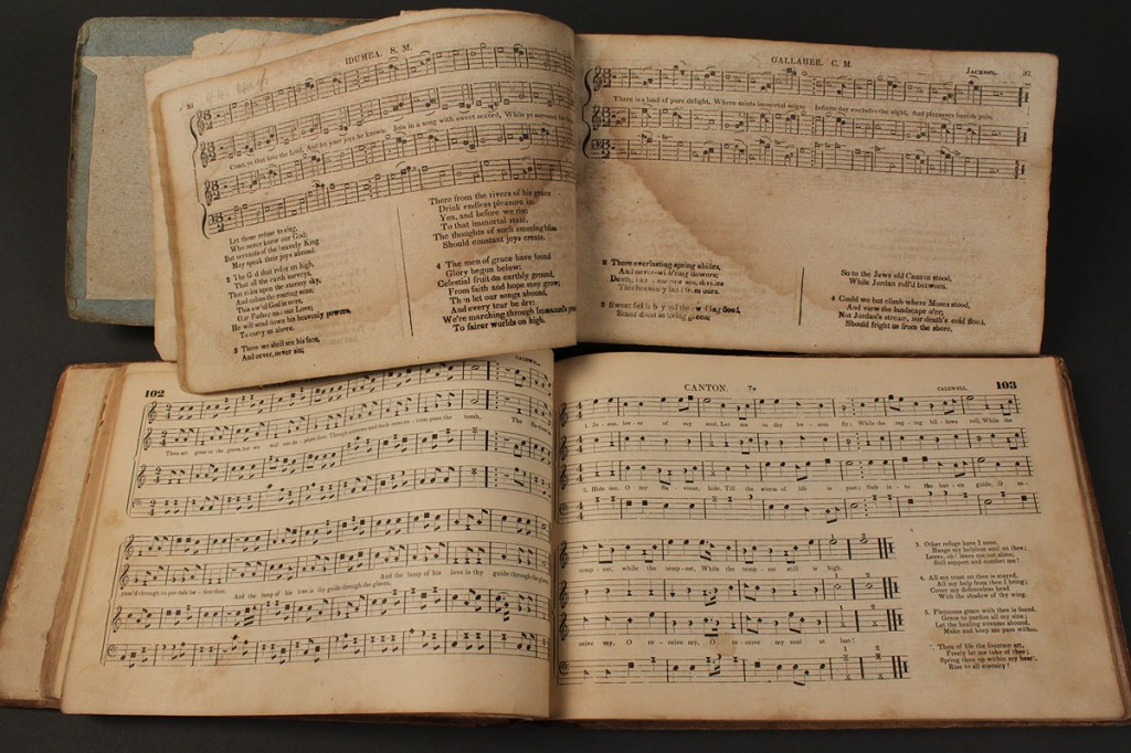 Lot 47: Lot of 2 Tennessee Shape Note Music Books
