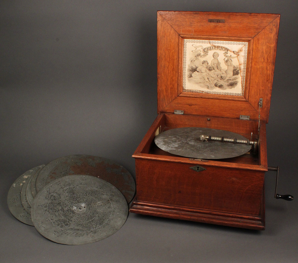 Lot 489: The Criterion Music Box w/ discs