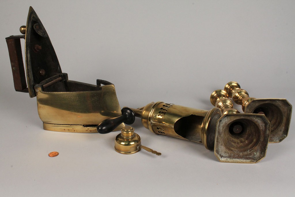 Lot 503: Assembled Lot of Brass Items, 4 pieces