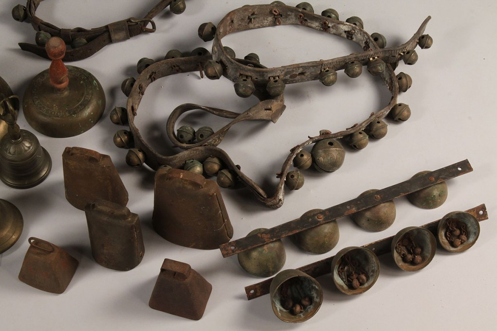 Lot 508:  Large lot of Brass Bells  (19 items)