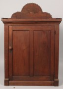 Lot 519: East Tennessee Walnut Hanging Cupboard