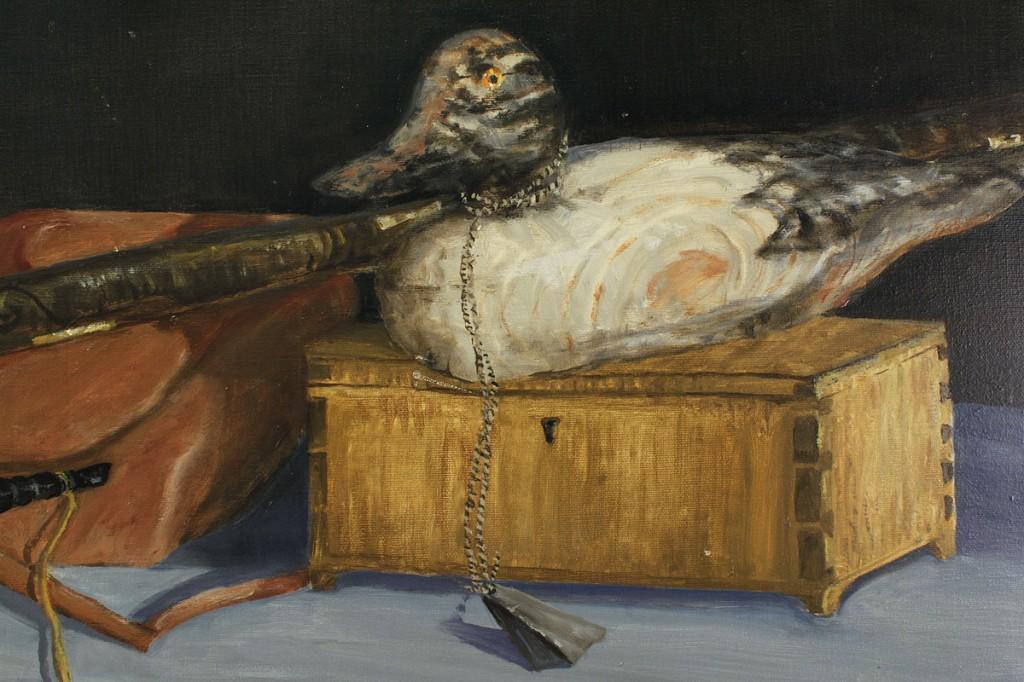 Lot 539: David James Hill Still Life Painting